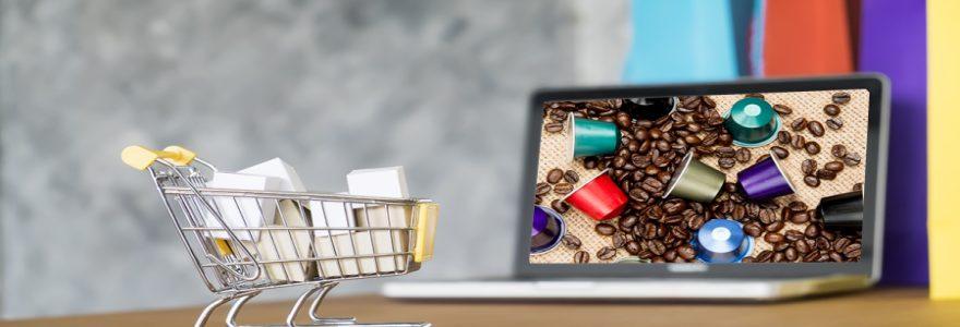 Machine à expresso : commandez en ligne des capsules de café bio compatibles Nespresso