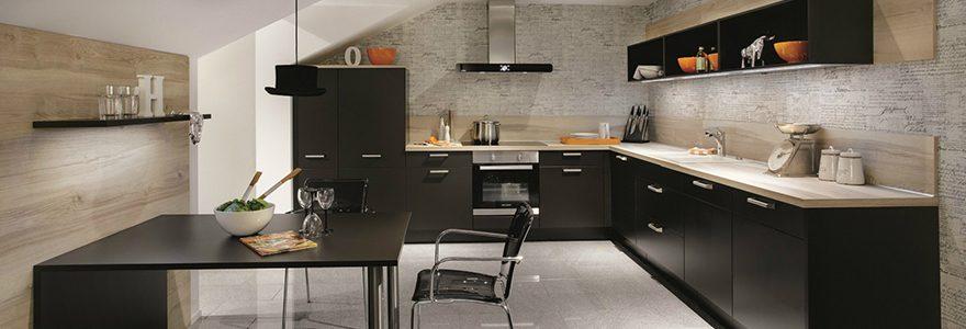 Aménagement de cuisines : achat d'équipement et de mobilier