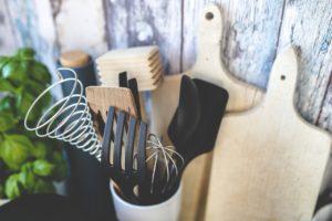 ustensiles de votre cuisine